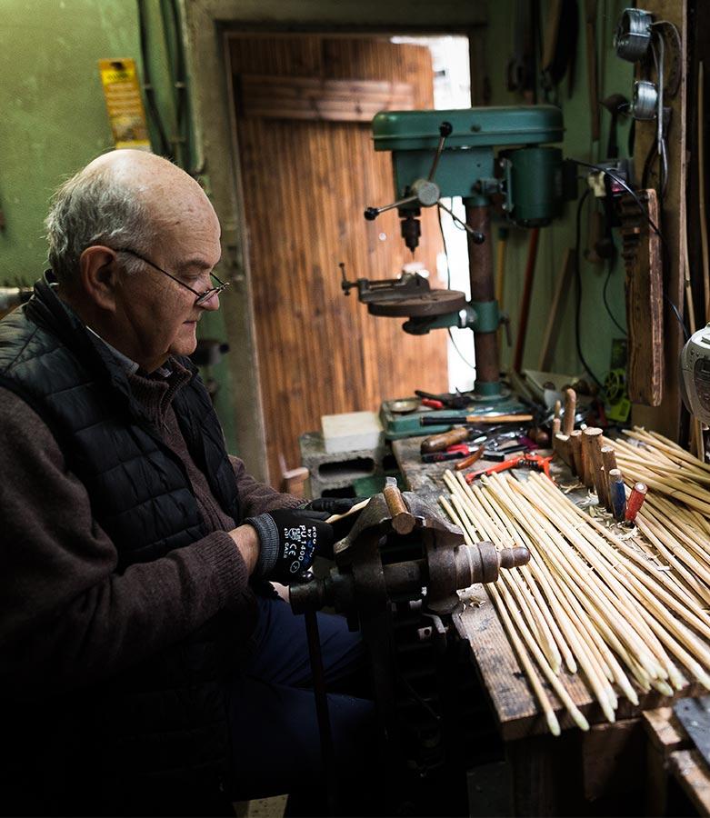 Fabrication artisanale de parapluies à Poitiers