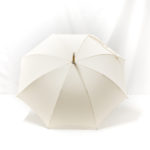 Parapluie droit ombrelle écrue