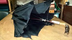 Restauration parapluie avant
