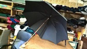 Restauration parapluie après