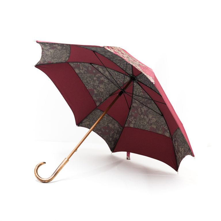 Parapluie carré hortensia