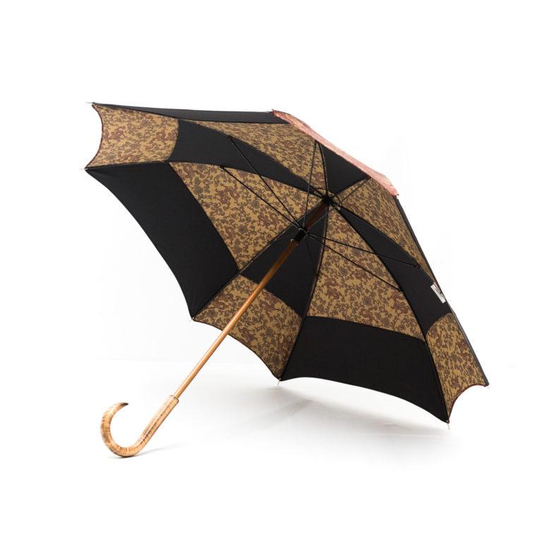Parapluie carré dragon bordeaux