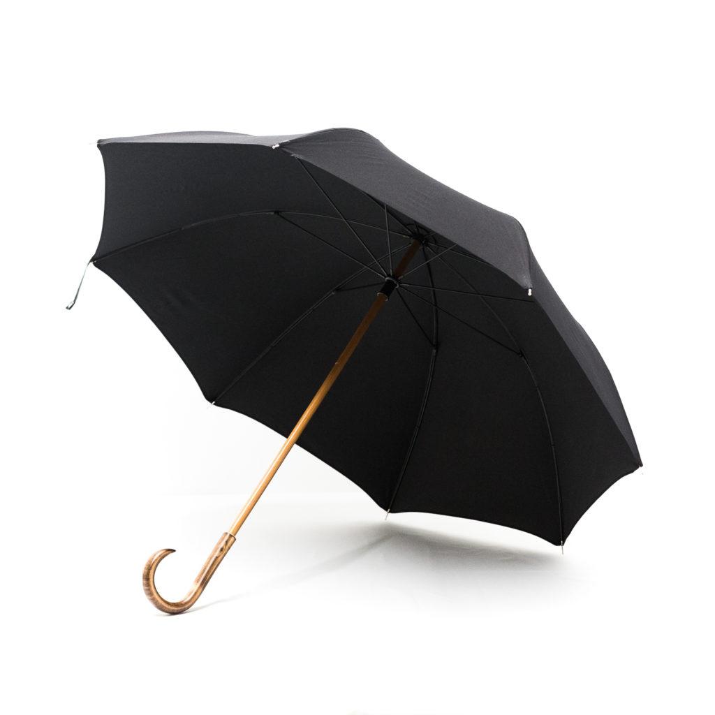 Grand parapluie homme noir