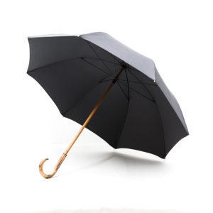 Grand parapluie homme gris anthracite