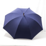 Grand parapluie bleu marine
