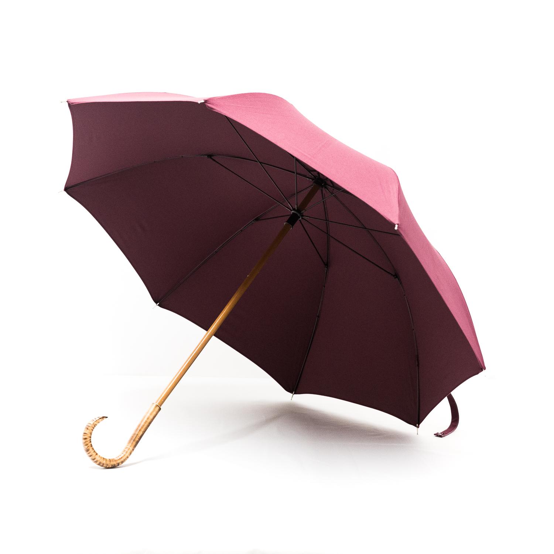 Grand parapluie homme prune