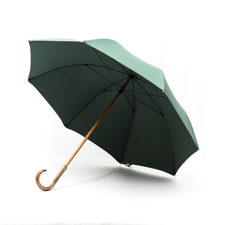 Grand parapluie homme vert