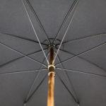 Parapluie anglais de marche noir