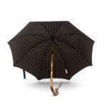 Parapluie luxe anglais de marche tissé bleu