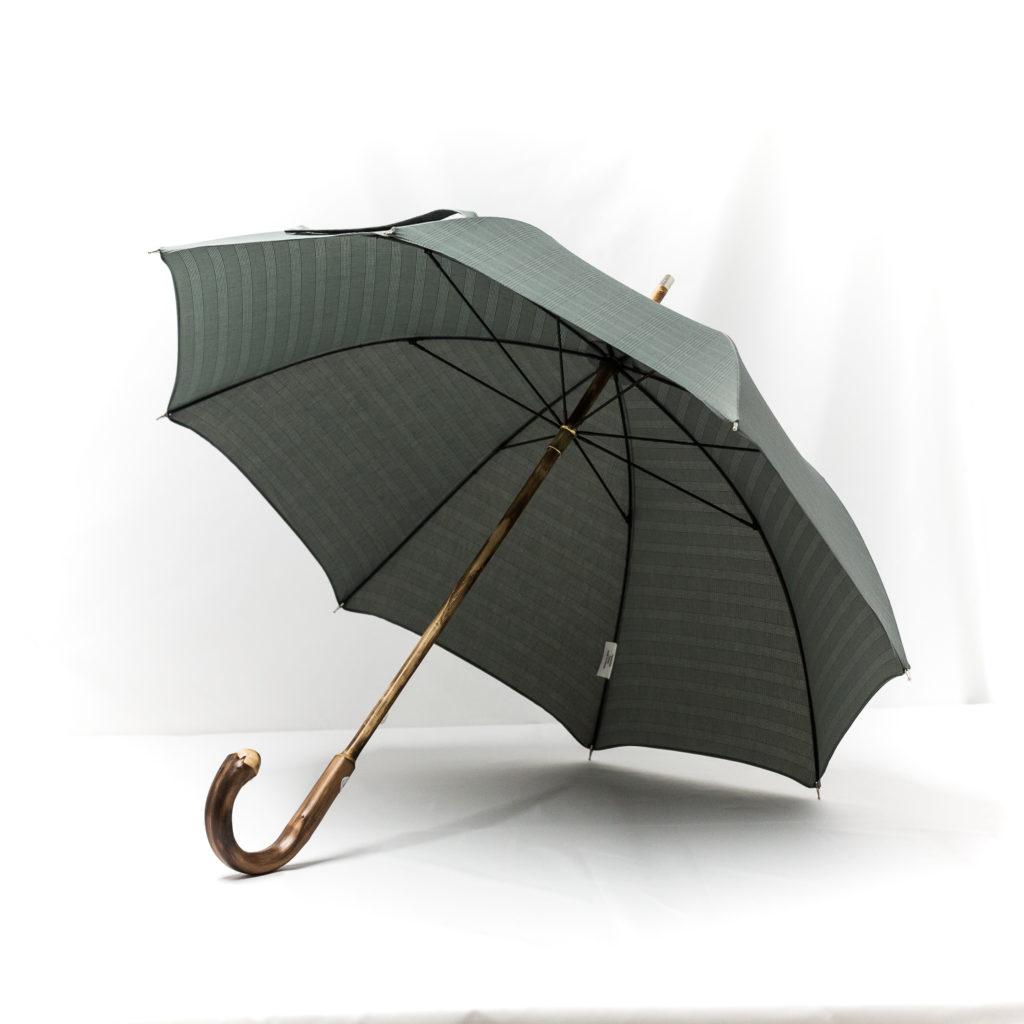 Parapluie anglais de marche tissé prince de galles