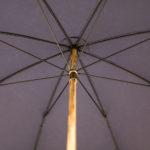 Parapluie anglais de marche bleu marine