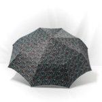 Parapluie pliant imprimé liberty bleu