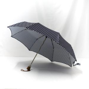 Parapluie pliant imprimé à pois