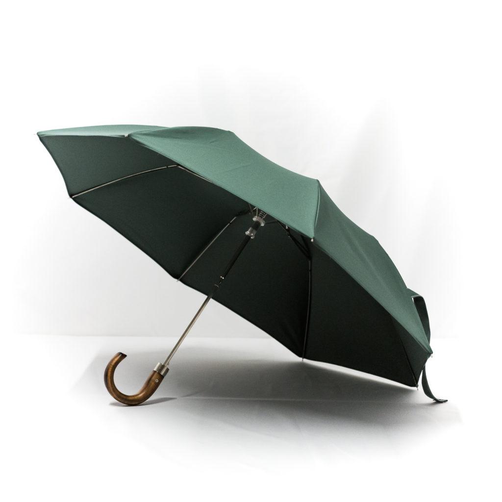 Parapluie pliant homme vert