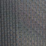 Tissage jacquard carreaux bleus