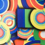 Tissu multicolore